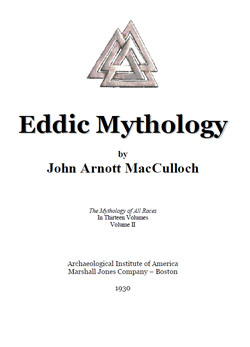Ещё одна хорошая подборка по книгам Рун John%20Arnott%20MacCulloch%20-%20Eddic%20Mythology