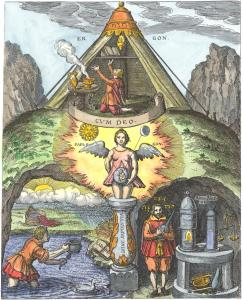 From Theophilus Schweighardt Mirror Of The Rosicrucian Wisdom