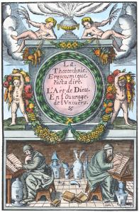 Frontispiece From Annibal Barlet Le Vray Et Methodique Cours Paris 1651