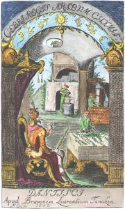 Frontispiece From Geber Summa Perfectionis Magisteri Danzig 1682