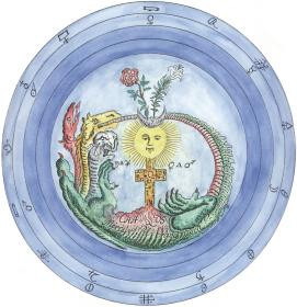 Redrawn From A Manuscript In The Manly Palmer Hall Collection