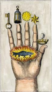 The Hand Of The Philosophers From Jj Hollandus Chymische Schrifften Vienna 1773