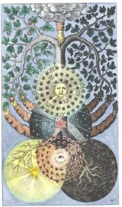 Tree Of Dark And Light From Valentine Weigel Studium Universale 1695