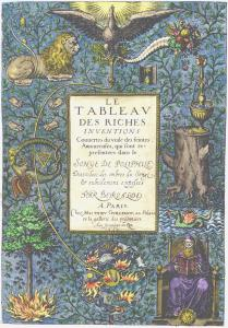 From Beroalde De Verville Le Tableau Des Riches Inventions