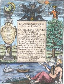 From Joannis Agricola Commentariorum Notarum