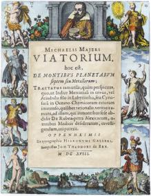 From Michael Maier Viatorium Oppenheim 1618