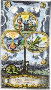 From Michael Sendivogius Chymische Schrifften Vienna 1750, Alchemical And Hermetic Emblems 2