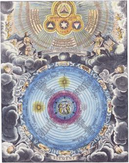 The World Of The Celestial Intelligences And The World Of The Elements