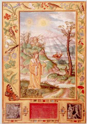 Drowning King From Splendor Solis, Hermetic Emblems From Manuscripts 1