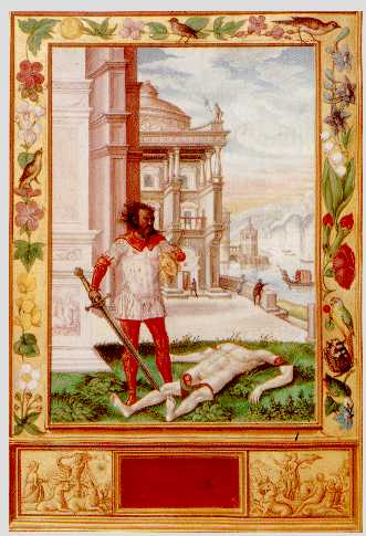 Severing The Head Of The King From Splendor Solis