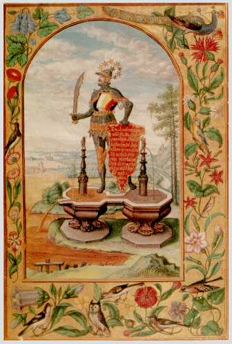 The Knight On The Double Fountain From Splendor Solis