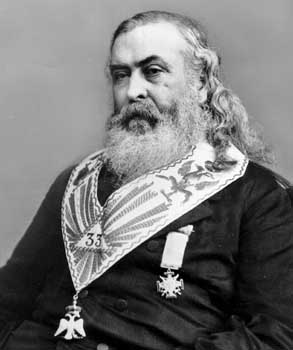 Albert Pike Portrait, Albert Pike