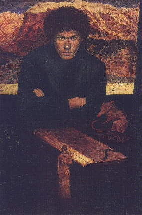 Self Portrait By Austin Spare