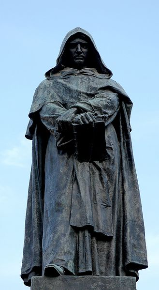 The Statue Of Giordano Bruno At The Campo De Fiori