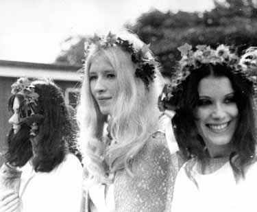 Maxine Celebrating Spring On Primrose Hill 1969