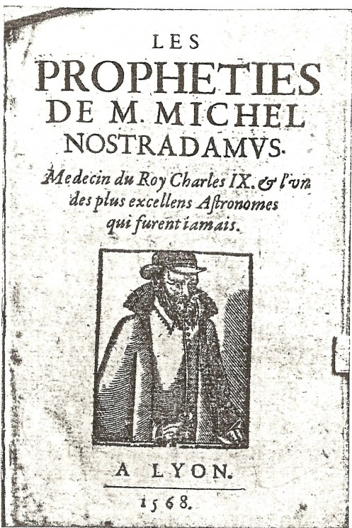 Nostradamus Centuries First Published 15552