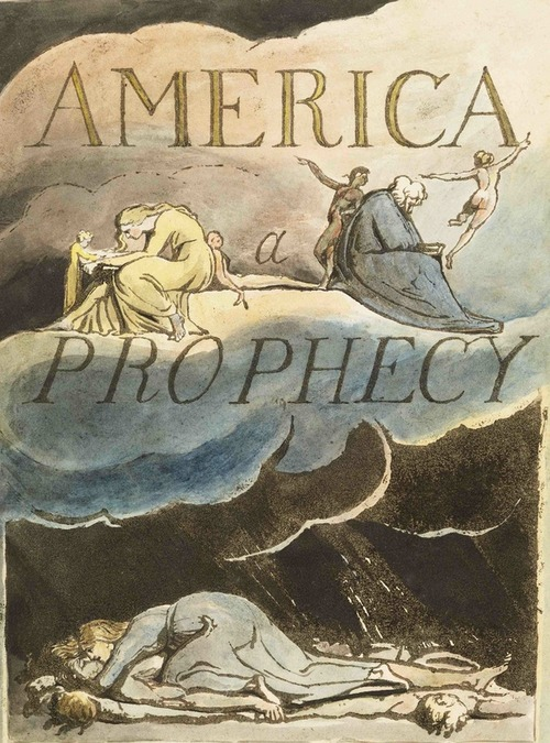 America Prophecy By William Blake, William Blake
