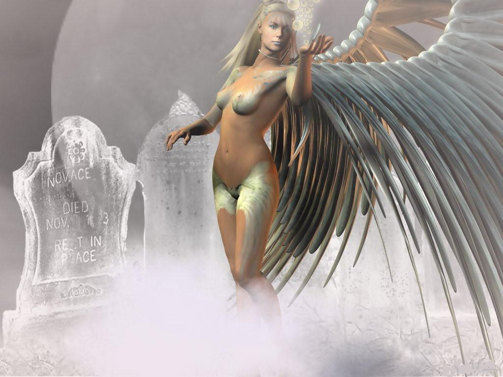 Fantasy Angel In The Funeral
