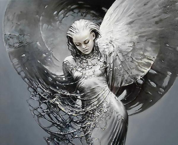 Fantasy Angel With Web, Angels 1