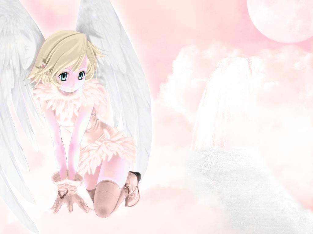 Прикольные картинки ангелы аниме, вечная память тебе