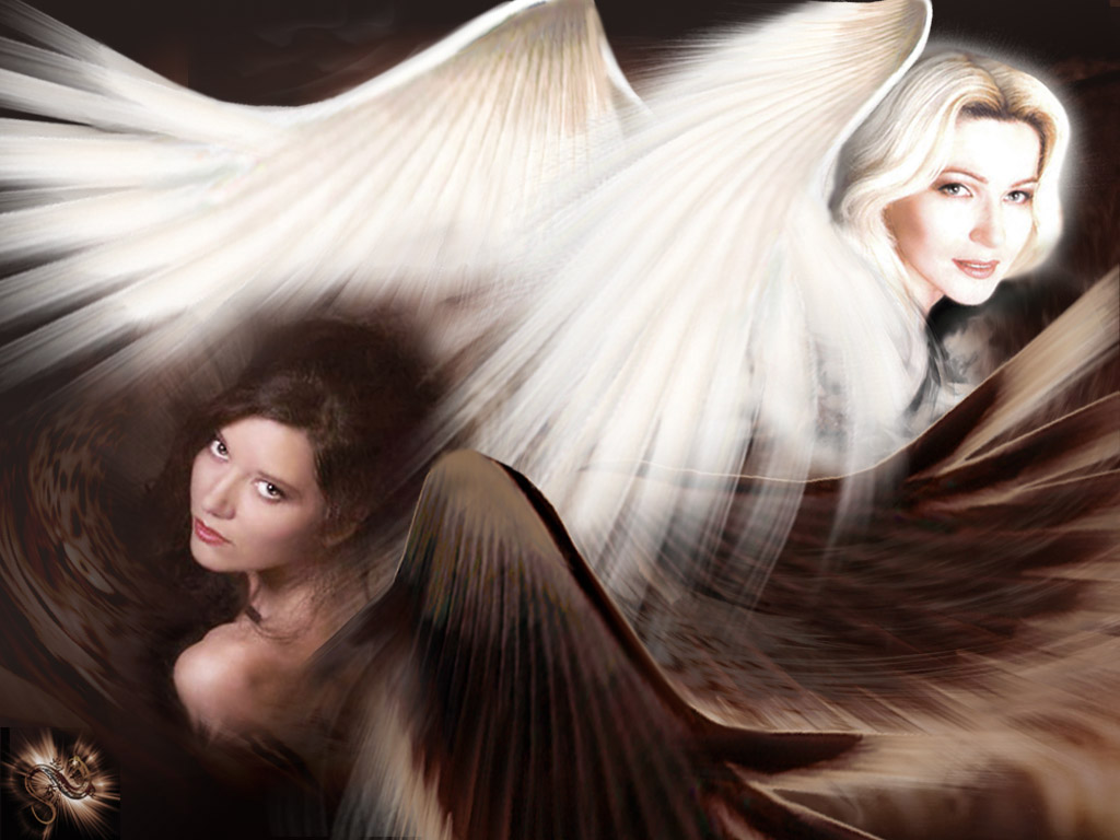Angel Black And Whait, Angels 2