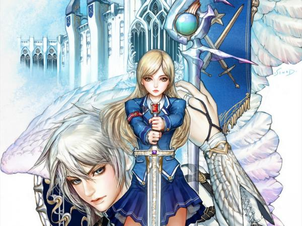 Angels Of Snow Staff
