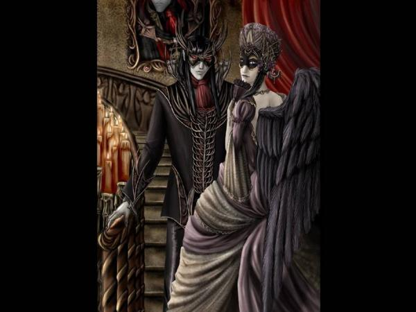 Vampire And Dark Angel