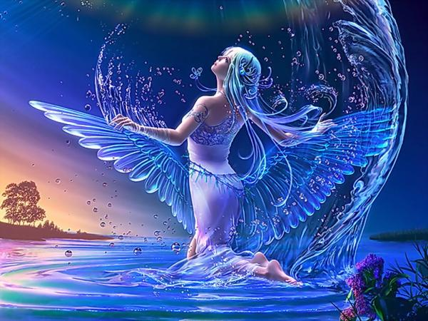 Water Magic Angel