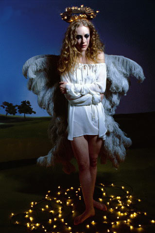 Angel And Candles