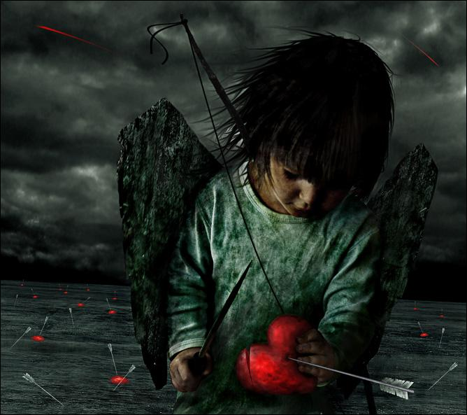 Angel Heart Is Broken