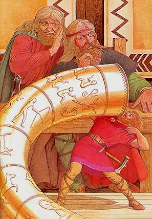 Thor Big Drink, Asatru Gods And Heroes