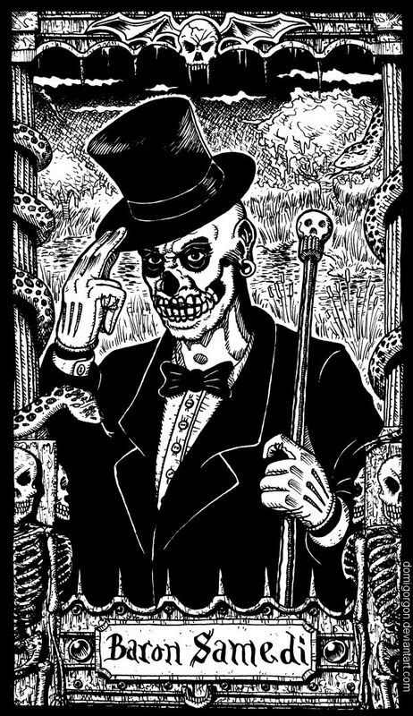 Baron Samedi By Domigorgon, Black Magic