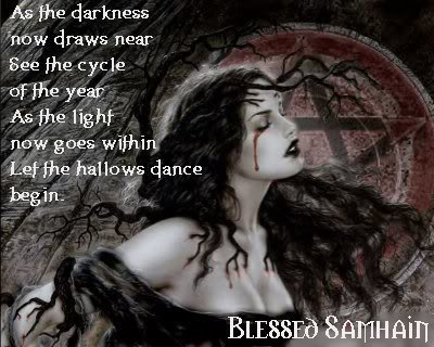 Blessed Samhain Blood