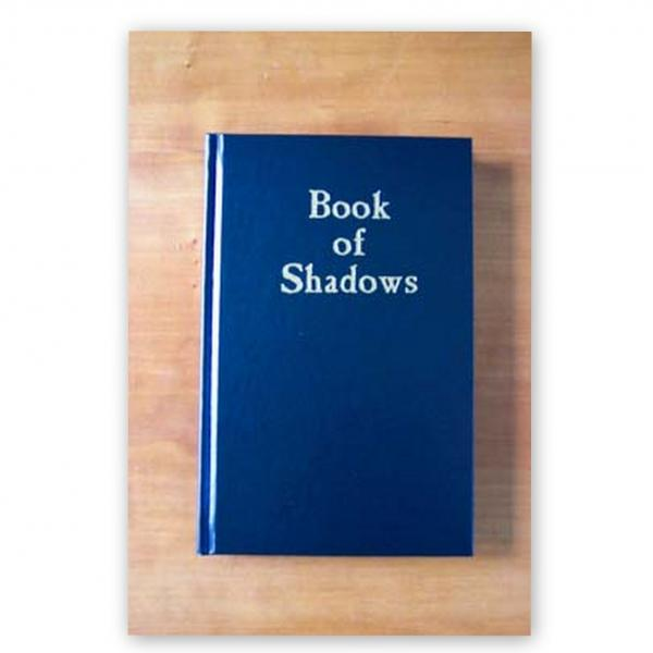 Blank Book Of Shadows Blue Cover, Book Of Shadows