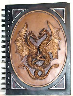 Double Dragon Blank Book Of Shadows