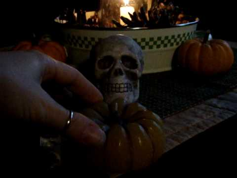Scull And Candle