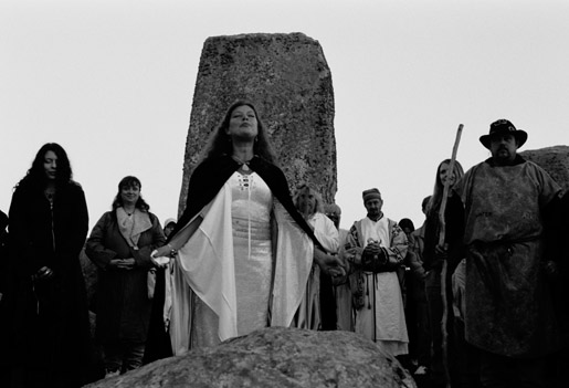 Druids Stonehenge Priestess, Celtic And Druids