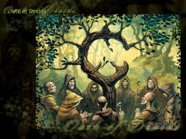 Wallpaper Oath Of Druids