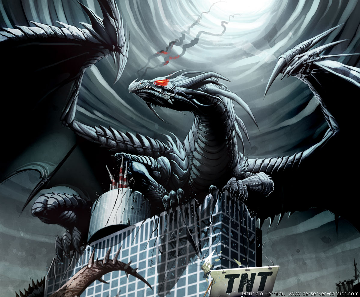 Black Dragon Tnt By El Grimlock1