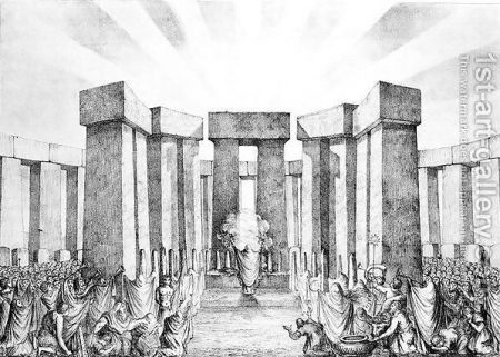 Druids Sacrificing To The Sun