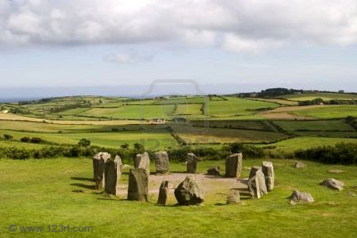 Rocks, Celtic And Druids