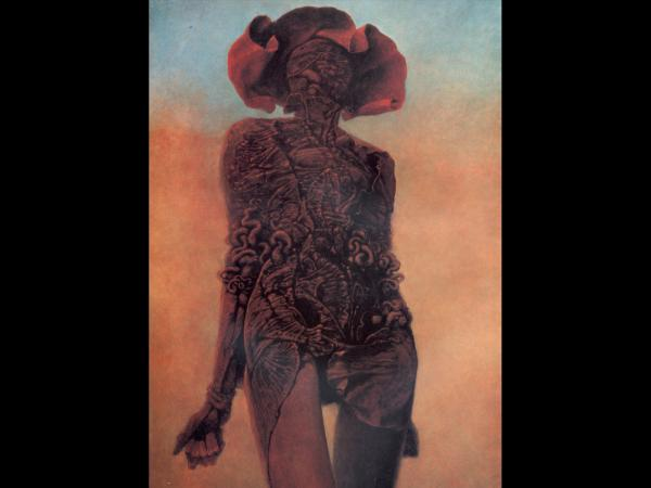 Zdzislaw Beksinski Beauty, Death
