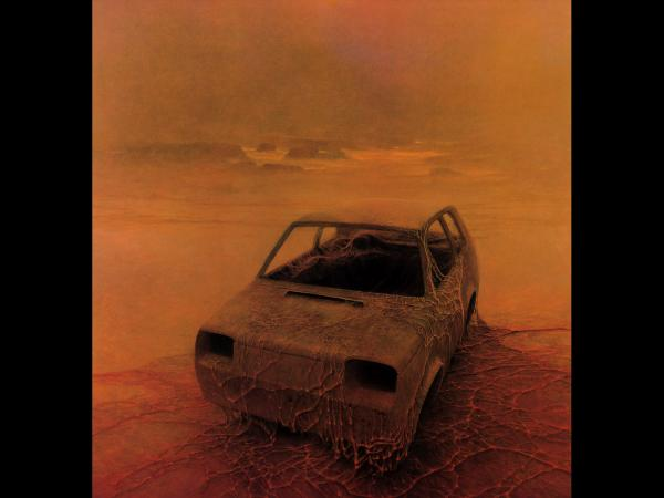 Zdzislaw Beksinski Monster Car, Death