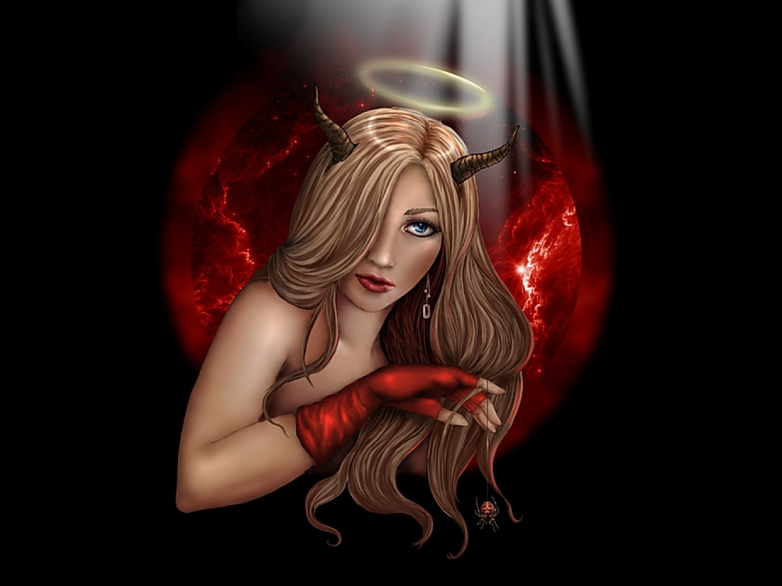 Holy Demoness In Red, Demonesses