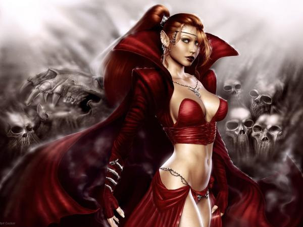 Red Elven Dead Queen, Demonesses