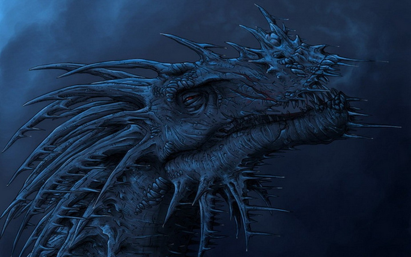 Great Blue Dragon