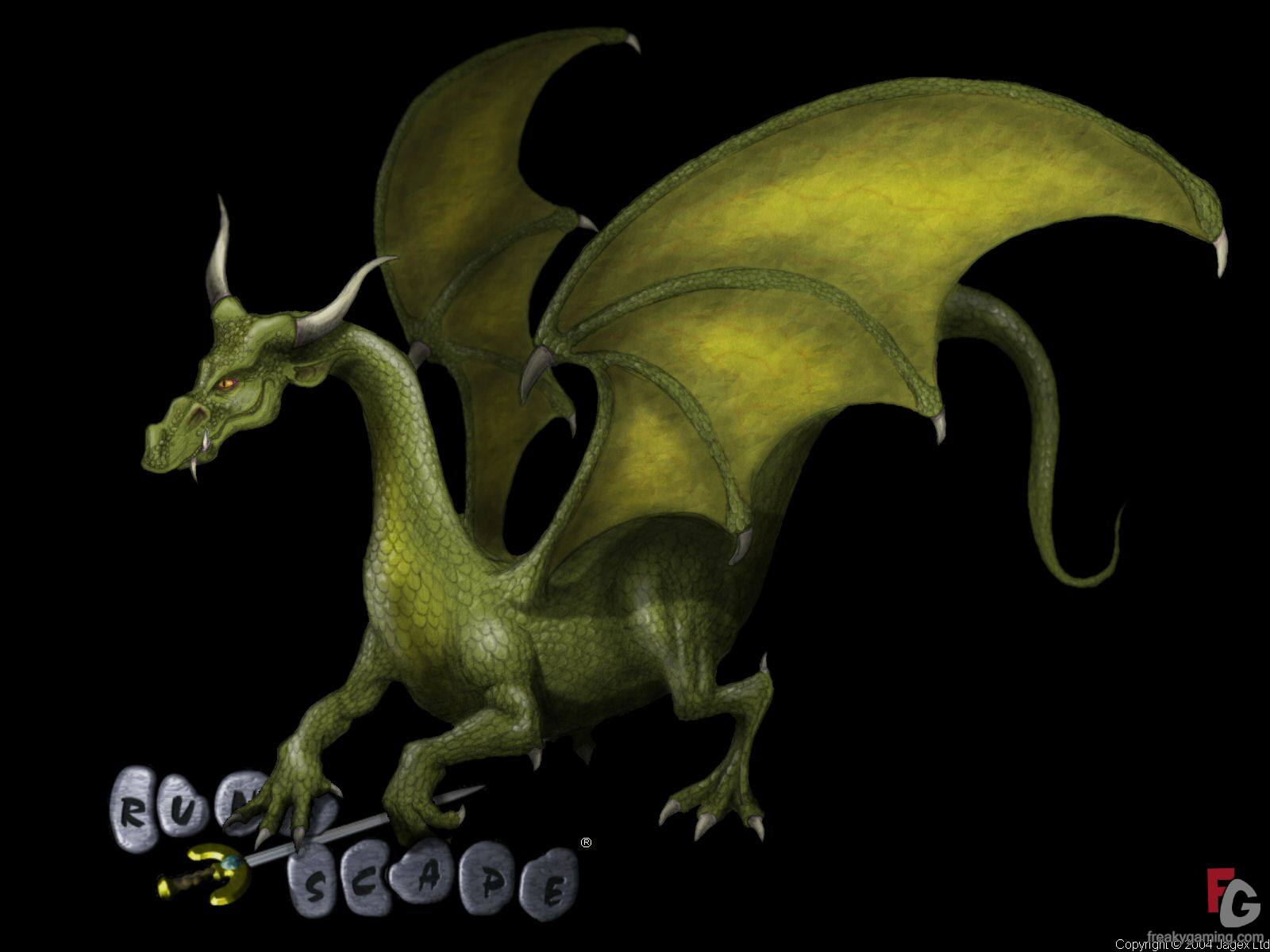 Green Dragon, Dragons