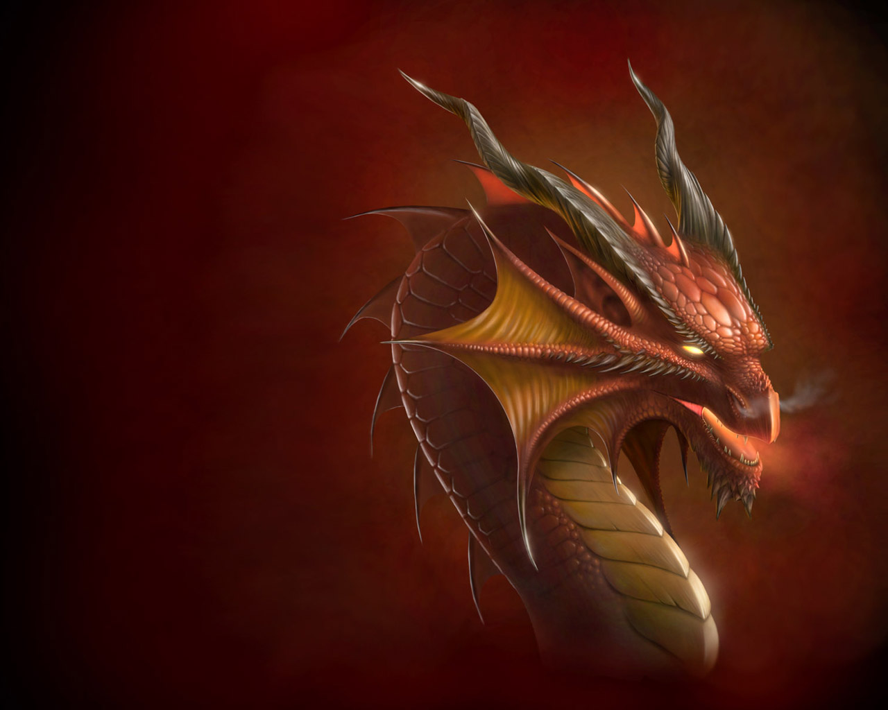 Red Devil Dragon