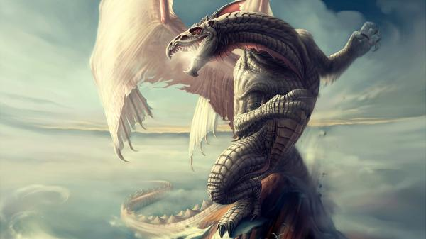 White Flying Dragon