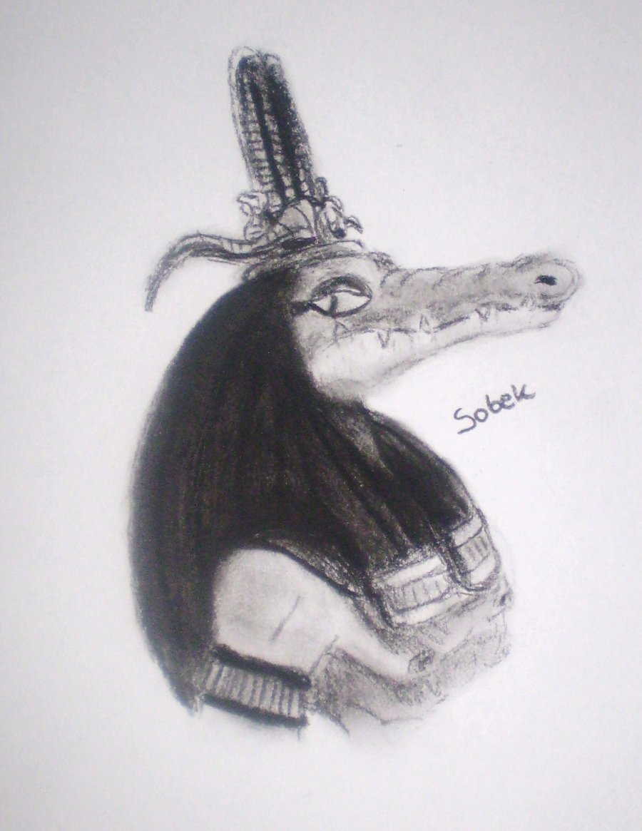 Egyptian Gods  Sobek By Seth